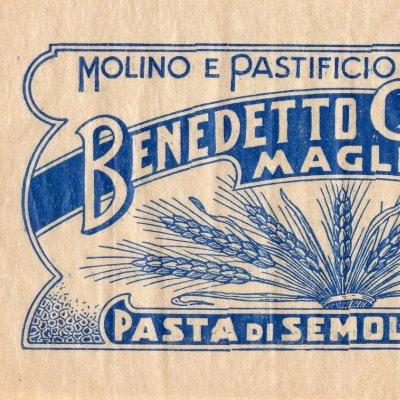 Incarto della Pasta di semola extra Benedetto Cavalieri