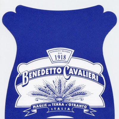 Etichetta per la confezione della pasta Benedetto Cavalieri