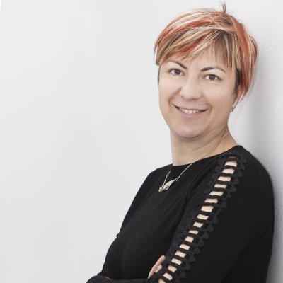 Cristiana Mela in una foto ritratto di Gianfranco Maggio