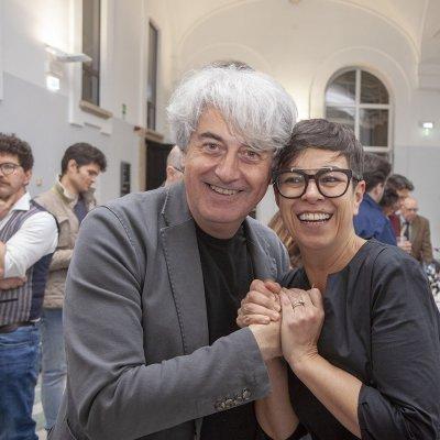 Luigi Caricato e Serena Mela