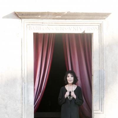 Juliette Gréco - Finestra Casa Menotti 2015 © Fabian Cevallos