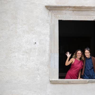 Premio Monini 2018 Maria Flora Monini e Victoria T. Chaplin © Andrea Kim Mariani