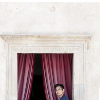 Shizen Kazama - Finestra Casa Menotti 2015 © Fabian Cevallos