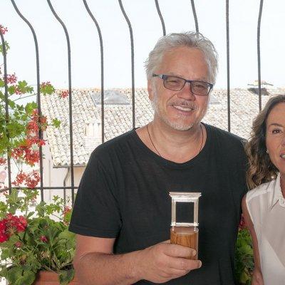 Tim Robbins e Maria Flora Monini © Fabian Cevallos