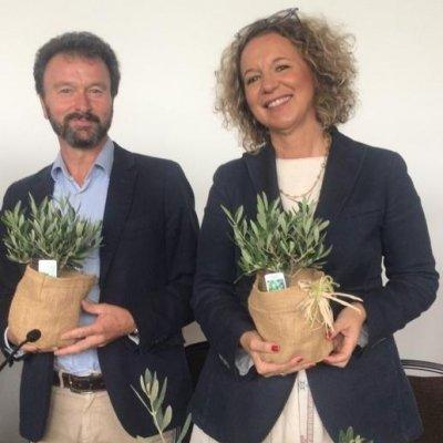Aleandro Ottanelli, Università degli Studi di Firenze, Tullia Gallina Toschi, coordinatrice del progetto internazionale Oleum e docente all'Università di Bologna
