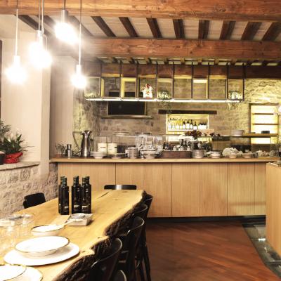 La cucina: OliAMO e MangiAMO