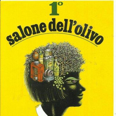 Il manifesto della prima edizione del Salone dell'Olivo