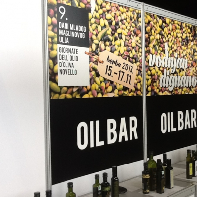 L'Oil Bar a Dignano, in Istria