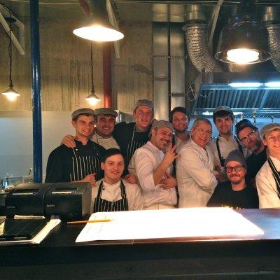 La brigata di cucina, con Nino Giardino, Timm Vladimir e  Kenneth Søndergaard