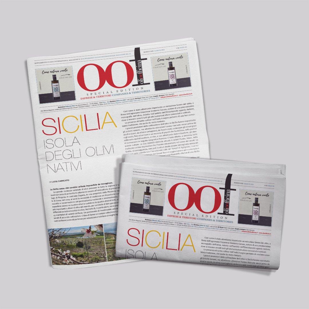 Quella straordinaria isola degli olivi ch'è la Sicilia