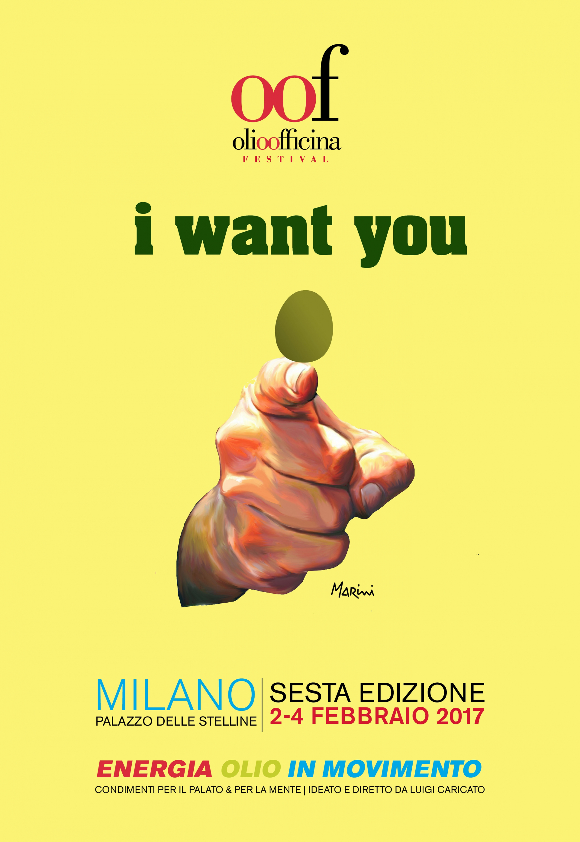 Olio Officina festival: I want you