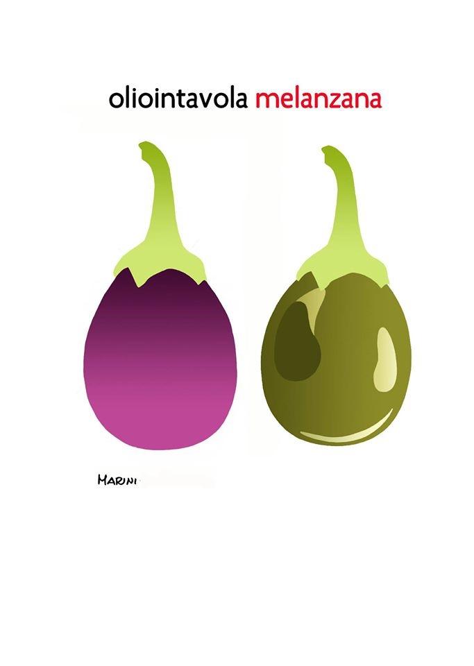 L'olio e la melanzana