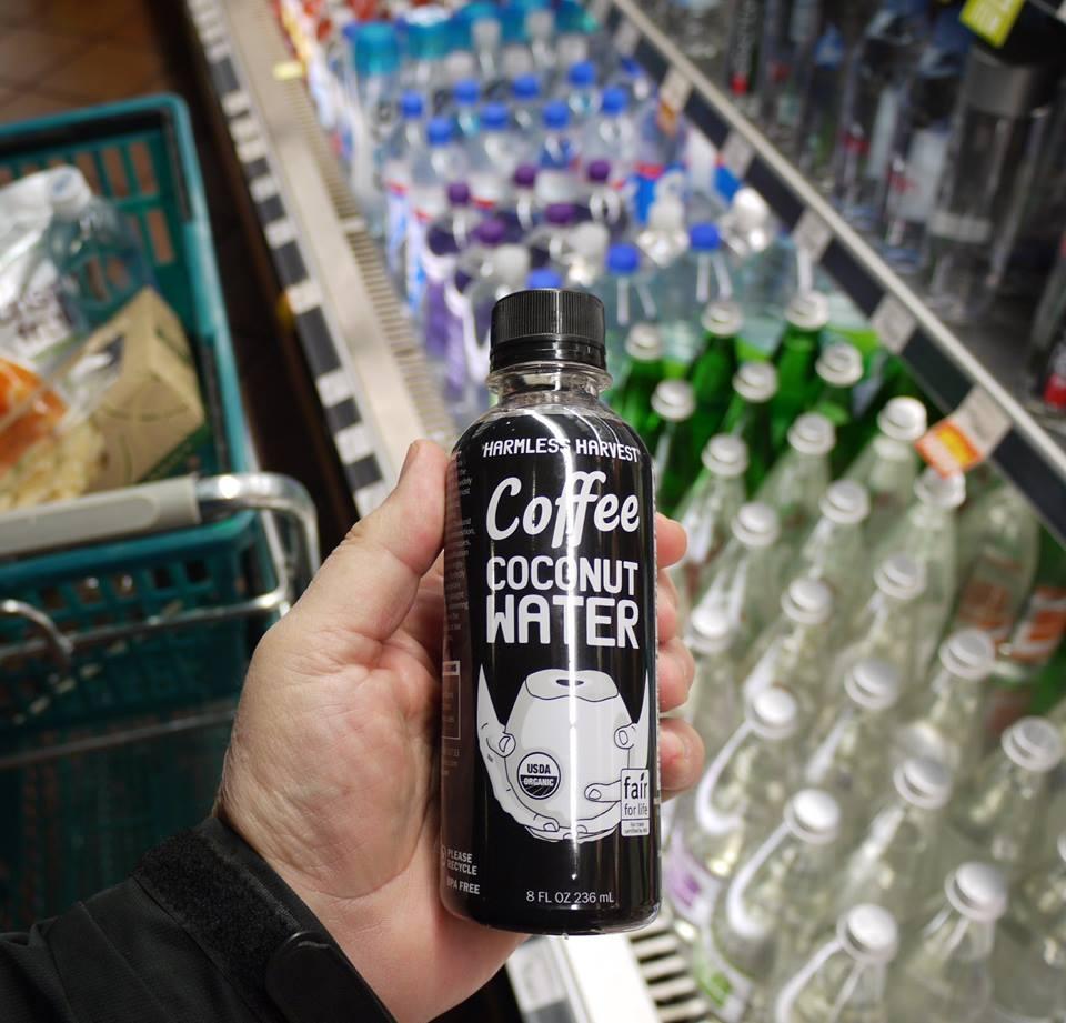 Caffè all'acqua di cocco