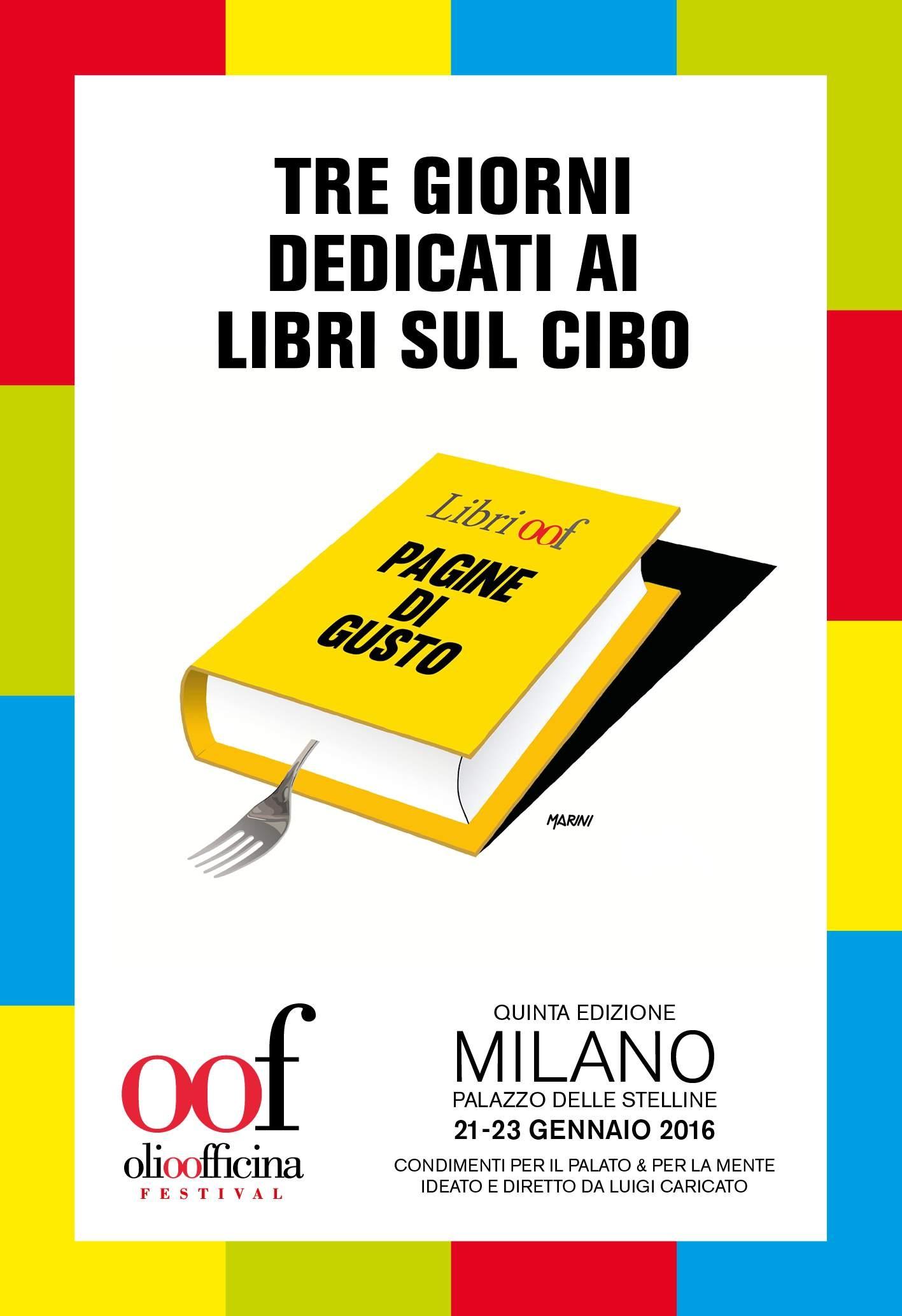 I libri a Olio Officina Festival