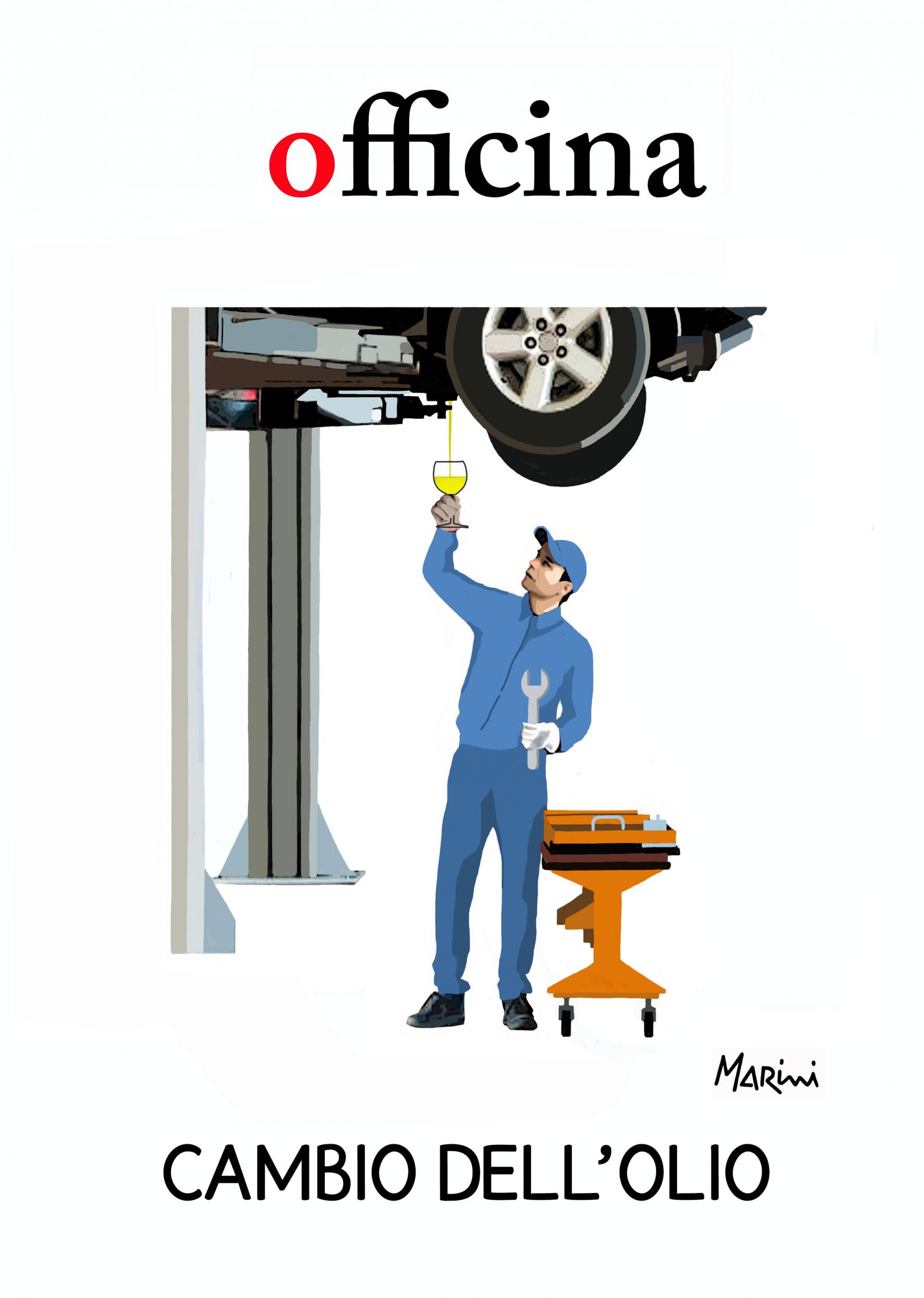 L'officina dell'olio