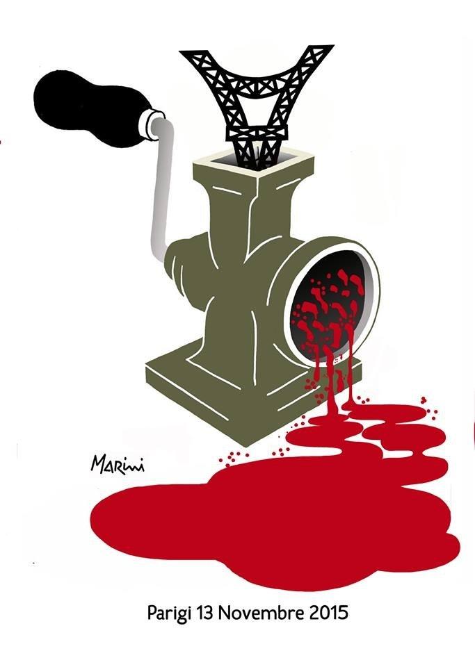 La barbarie a Parigi