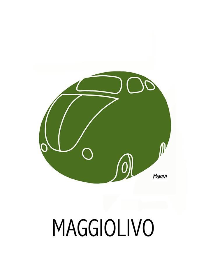 Avete presente l'olivo in maggio?