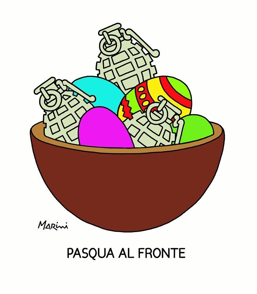 Pasqua secondo Valerio Marini