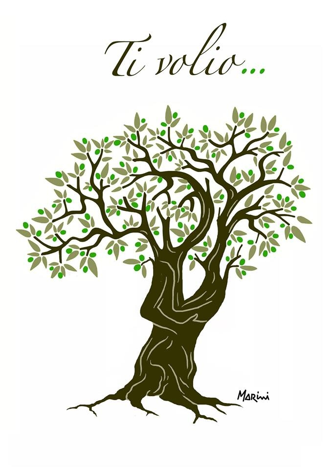 L'olivo innamorato