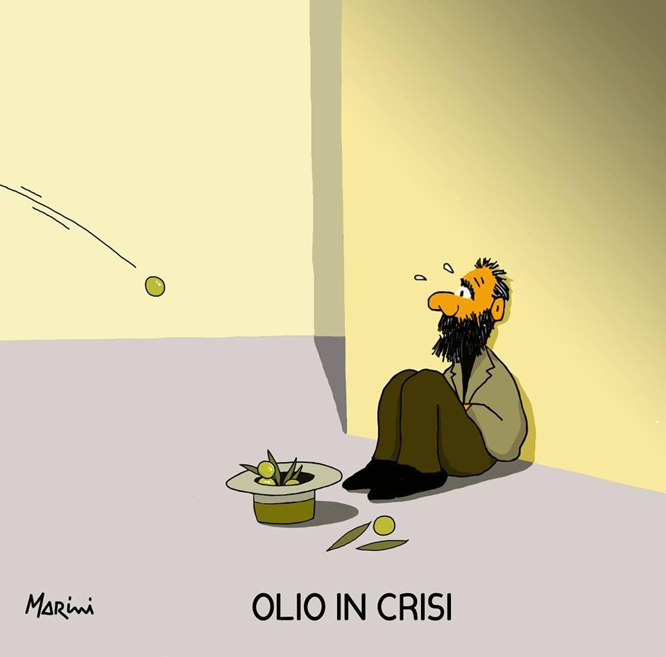 Mendicare olive, moneta sonante