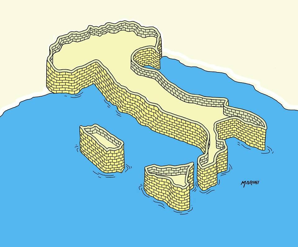 L'Italia cintata