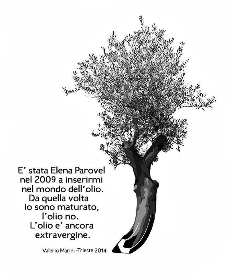 L'omaggio di Marini a Elena Parovel