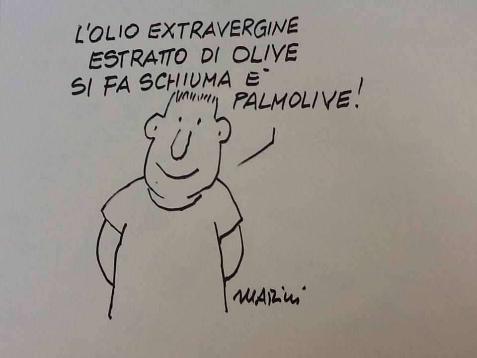 Una vignetta di Valerio Marini